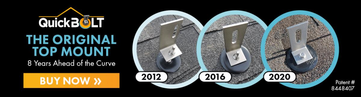 intersted in quickbolts? click here to go to the asphalt tpo epdm roof mounting page on our website