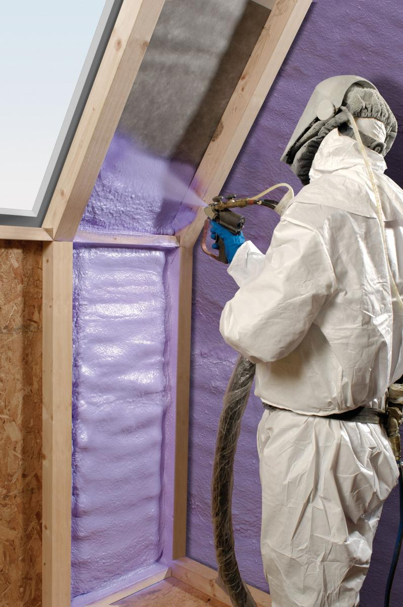 spray ployurethane foam insulation